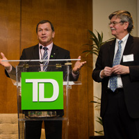 Special event with Gordon Pitts, hosted by TD's Frank McKenna and Paul Douglas