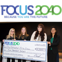DeGroote wins Focus2040 competition – again!
