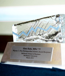 Wayne C Fox Distinguished Alumni Award
