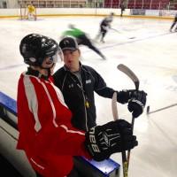 Go Ahead Goal: Hockey Coach + MBA Candidate