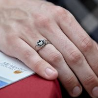 Put a ring on it: DeGroote MBA grads earn coveted Legacy Rings