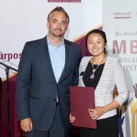 Congratulations to Michelle Zhu, winner of the 2016 Adam Felesky MBA Scholarship