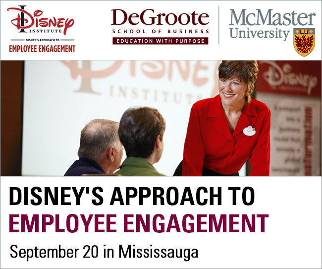 Disney's Approach to Employee Engagement