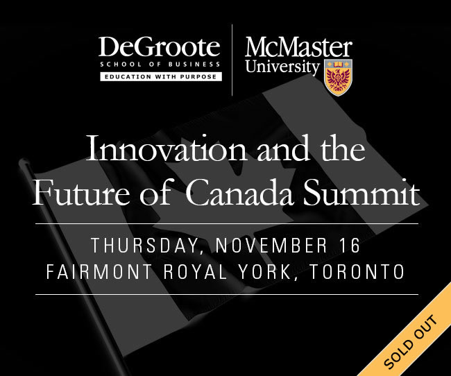 Innovation and the Future of Canada Summit