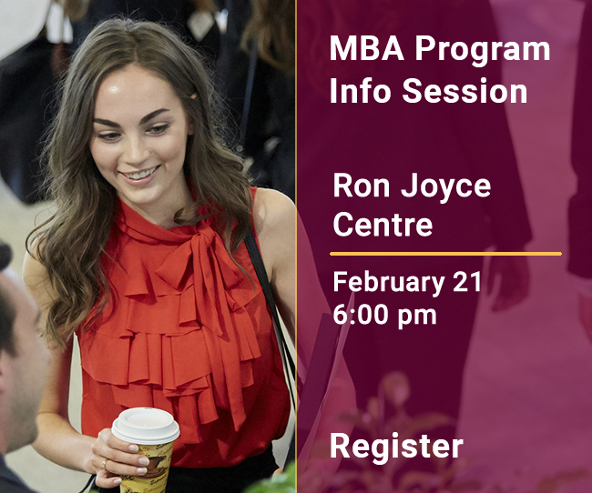 MBA | Info Session | February 21