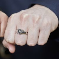 Hand with an MBA Legacy Ring