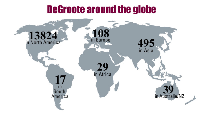 DeGroote Around the Globe (2013)