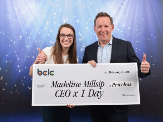 A CEO for a Day Winner