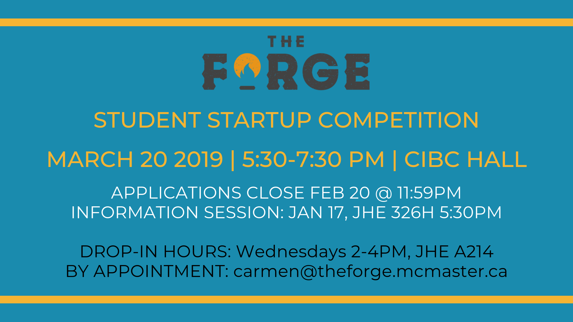 Applications open for Student Startup Competition - $100K in