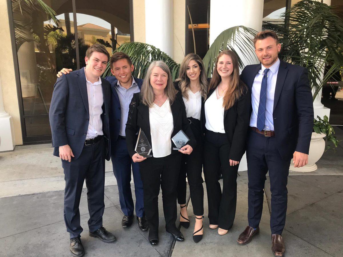 Winning team at ICBSC 2019