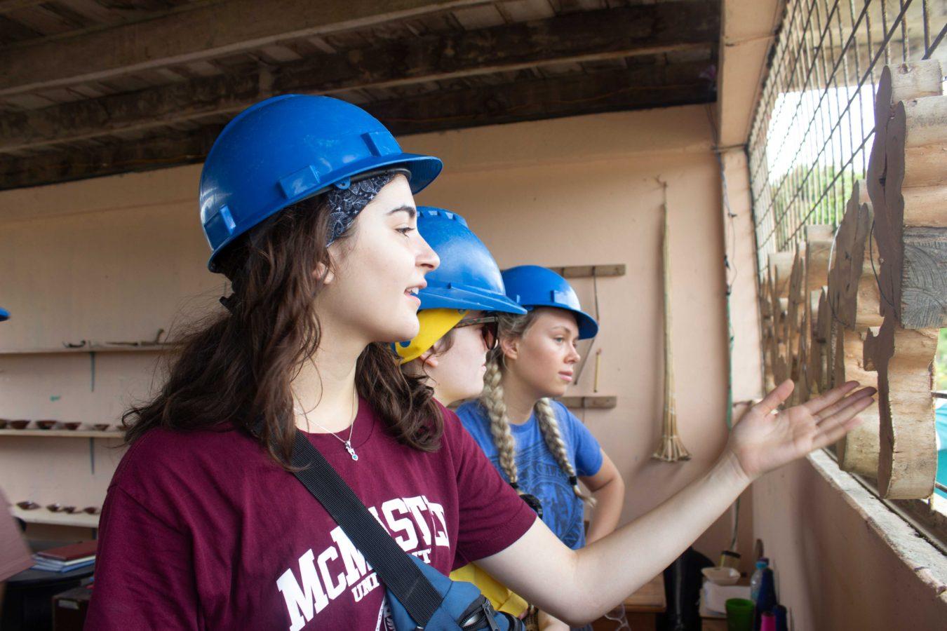 IBH students helping in Ecuador