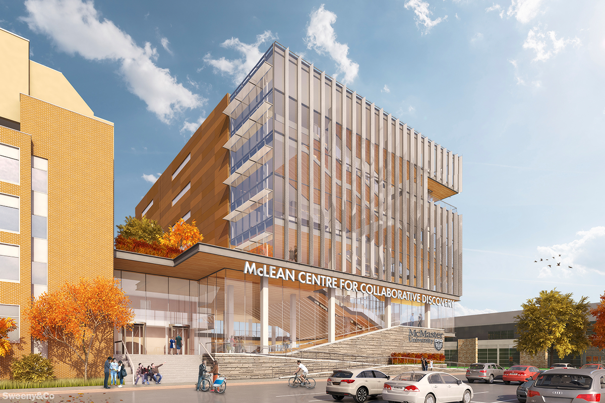 Rendering of the proposed McLean Centre