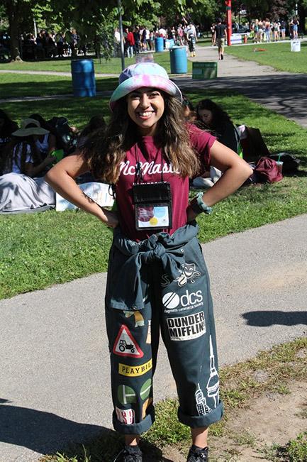 Greensuit student