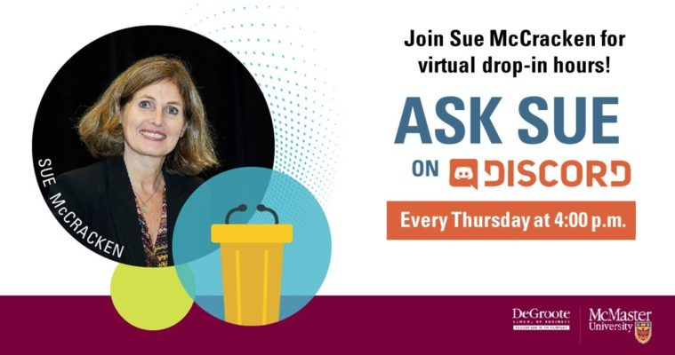 ask sue on discord