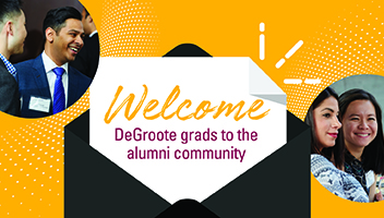Welcome DeGroote grads to the alumni community