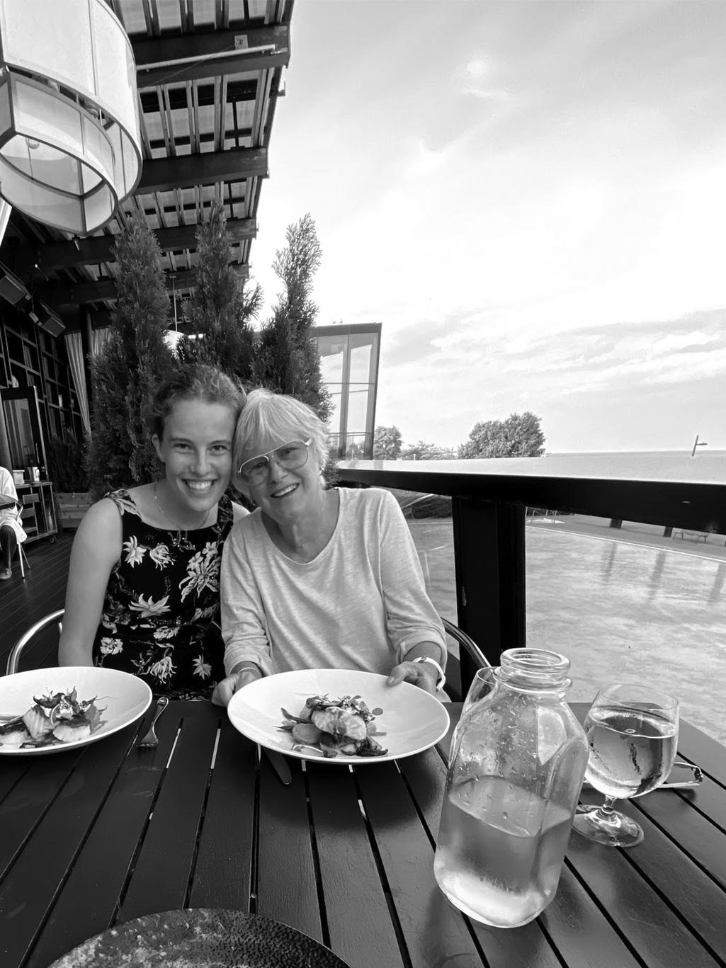 Chloe Asselstine and Grandma