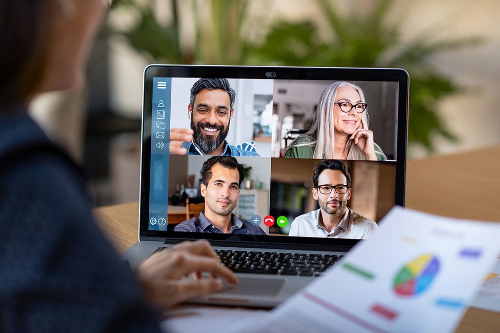 Virtual board meeting