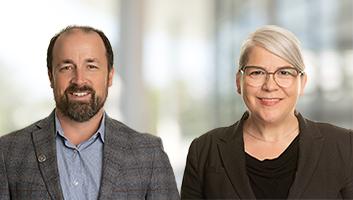 Brent McKnight and Sandra Lapointe