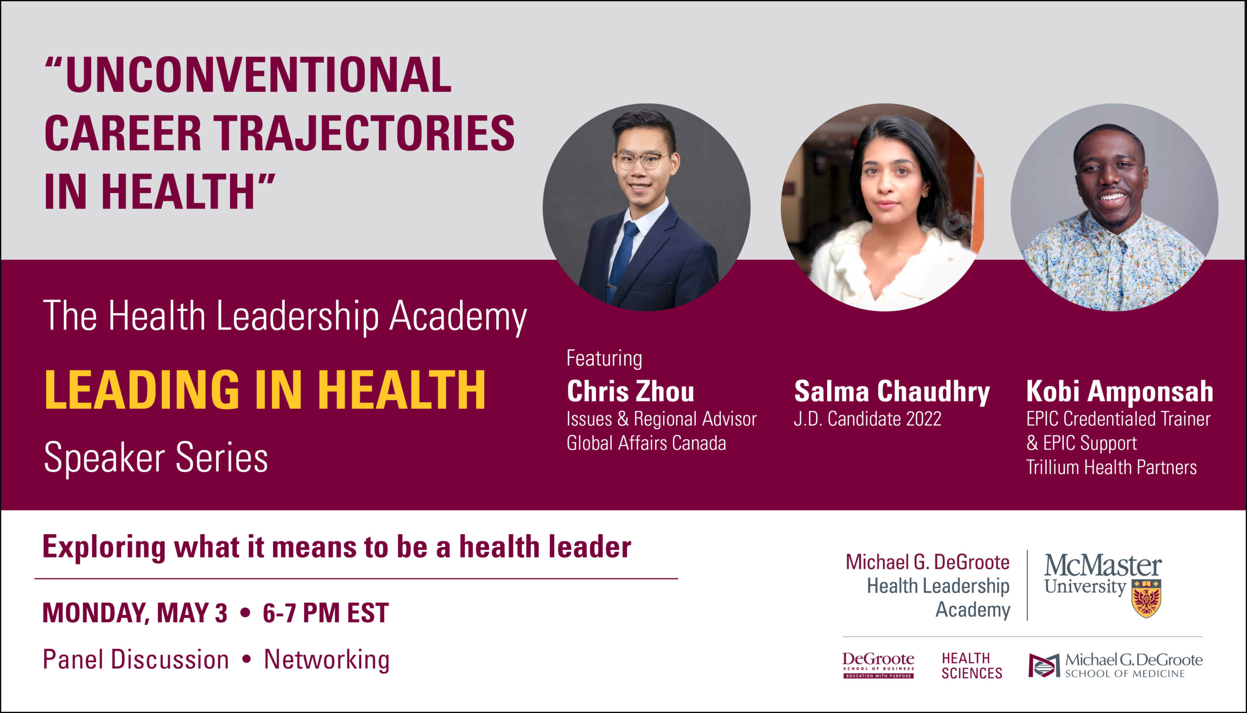 Leading in Health: Unconventional Career Trajectories in Health