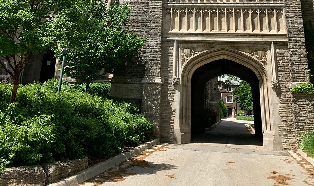 McMaster University arch