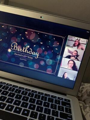 Rachel West online birthday