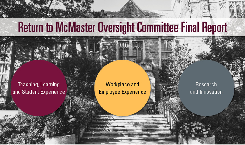 Return to McMaster Oversight Committee releases final recommendations report