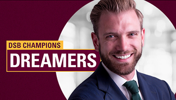 DSB Champions Dreamers with Kelvin Ewald