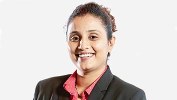 Megha Tretha, MBA Valedictorian