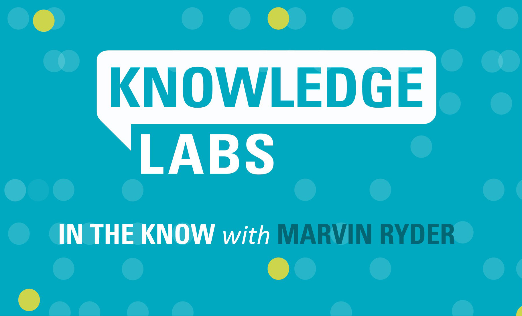 In the Know with Marvin Ryder